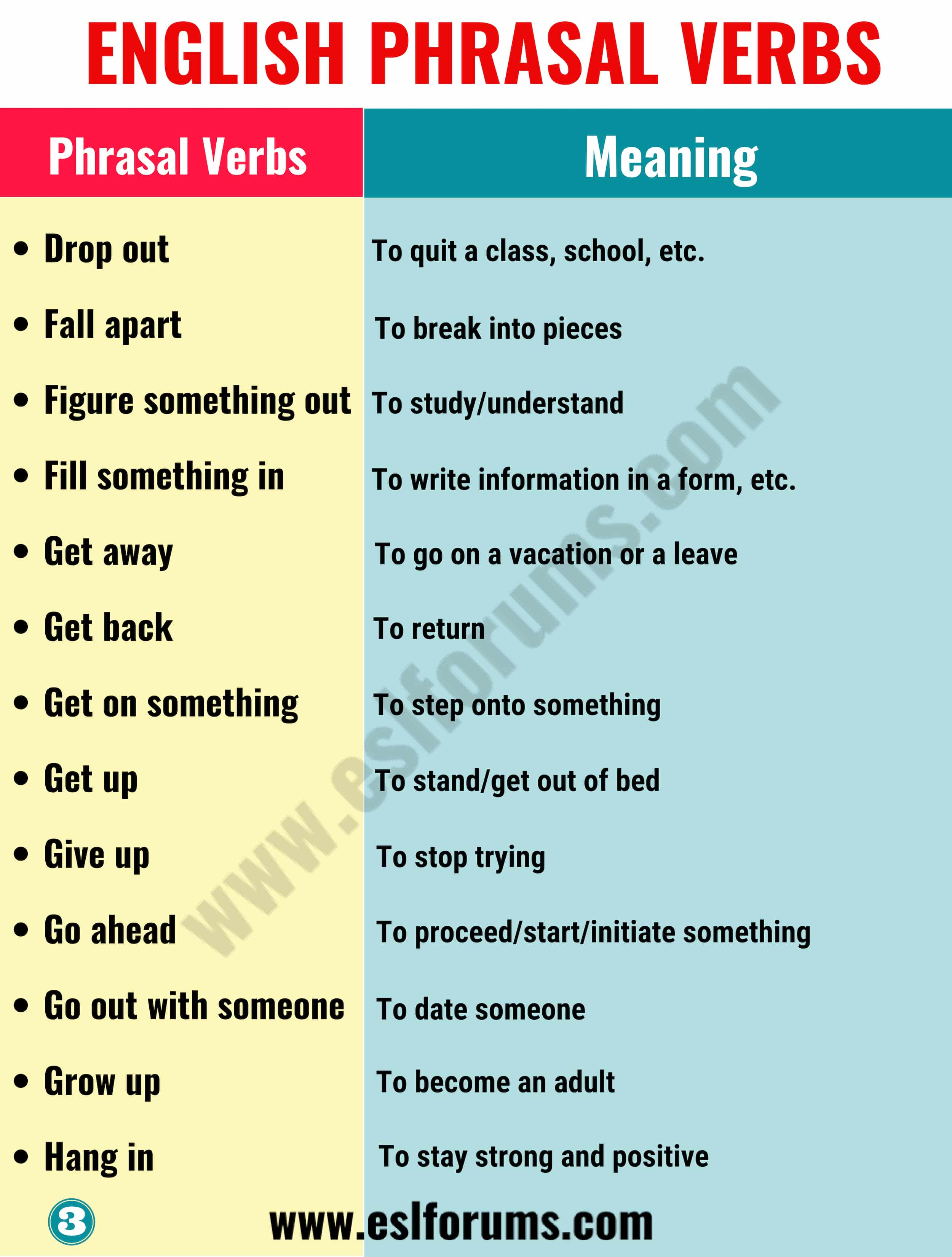 To break the news phrasal verb