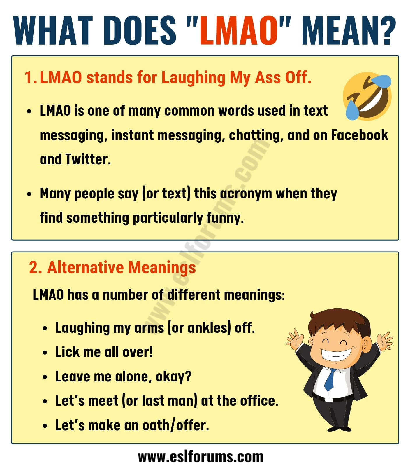 What Does LMAO Mean in Texting? ROFL, BFF, IMO & More...!