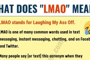 What Does LMAO Mean in Texting? ROFL, BFF, IMO & More...! 8