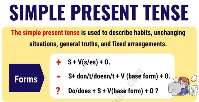 The Simple Present Tense: Useful Usage and Example Sentences 2