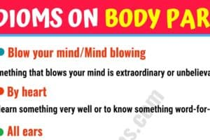 Learn Idioms with Body Parts in English 39
