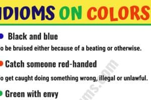 Interesting Color Idioms in English 11