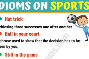 10 Funny Sports Idioms in English 13