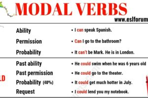 Modal Verbs in English: Usage & Examples 19