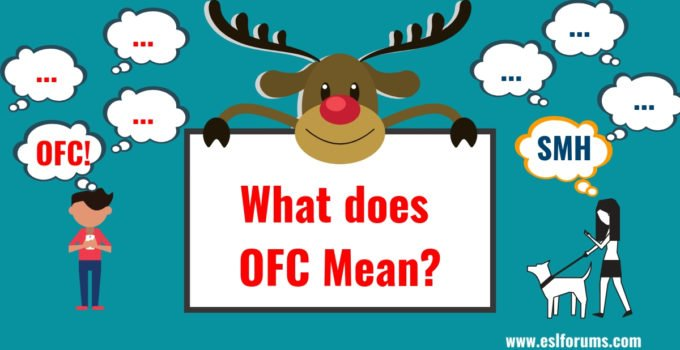 OFC & SMH in Texting: Meaning and Example Sentences 3