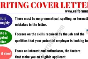 How to Write a Cover Letter Effectively! 5