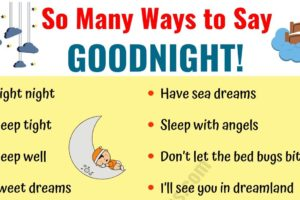 GOODNIGHT Quotes: 18 Funny Goodnight Messages in English 10