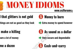 20+ Interesting Money Idioms in English 9