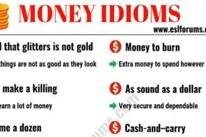20+ Interesting Money Idioms in English 12