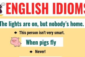 Top 20 Funny Idioms in English You Might Not Know! 9