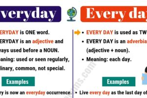 EVERYDAY vs EVERY DAY: How to Use Every day vs Everyday Correctly? 10