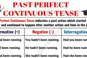 Past Perfect Continuous Tense: Usage and Examples 9