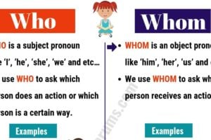 WHO vs WHOM: Useful Usage and Example Sentences 10