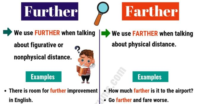FURTHER vs FARTHER: How to Use Them Correctly? 5