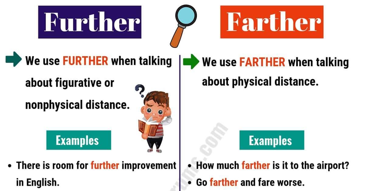 FURTHER vs FARTHER: How to Use Them Correctly? 1