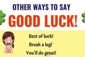 "GOOD LUCK! | List of 19 Power Ways to Say ""GOOD LUCK!"" 10"