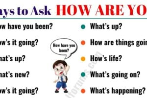 """Stop Asking """"HOW ARE YOU?"""", 16 Questions You Can Use Instead of It 10"""