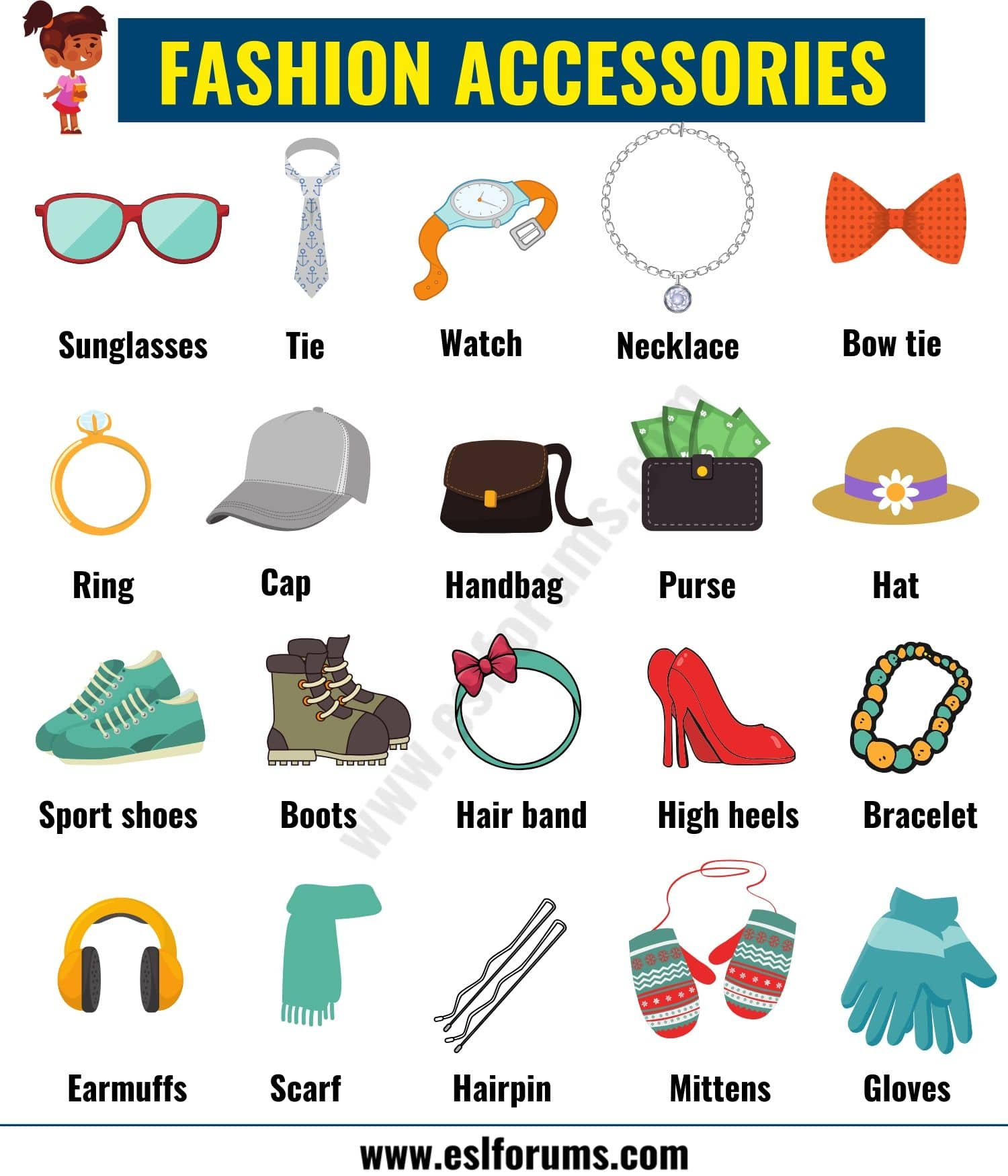 Fashion Accessories List of Accessories for Men and Women