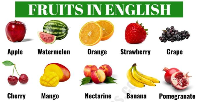 List of Fruits: Learn Common Fruits Names in English 4