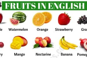 List of Fruits: Learn Common Fruit Names in English 10
