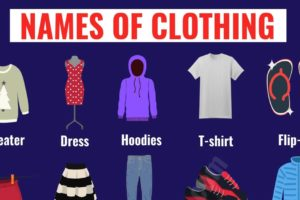 Types of Clothing: Useful List of Clothing Names with the Picture 4