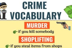 Types of Crimes: Learn Popular Types of Crimes in English 9