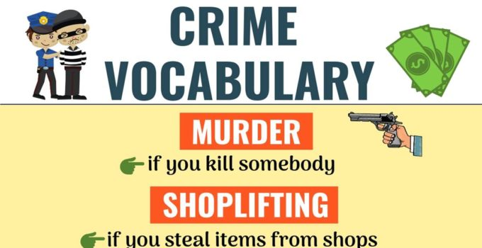 Types of Crimes: Learn Popular Types of Crimes in English 1