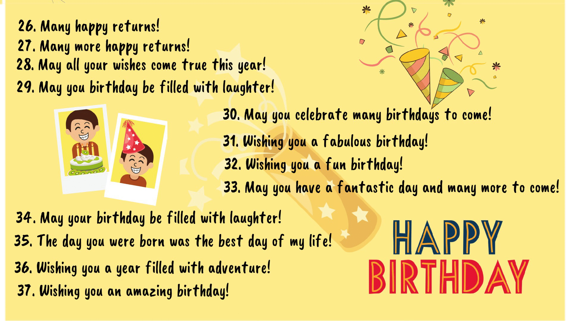 Birthday Wishes: 40+ Best Happy Birthday Wishes to Friends & Others! 3
