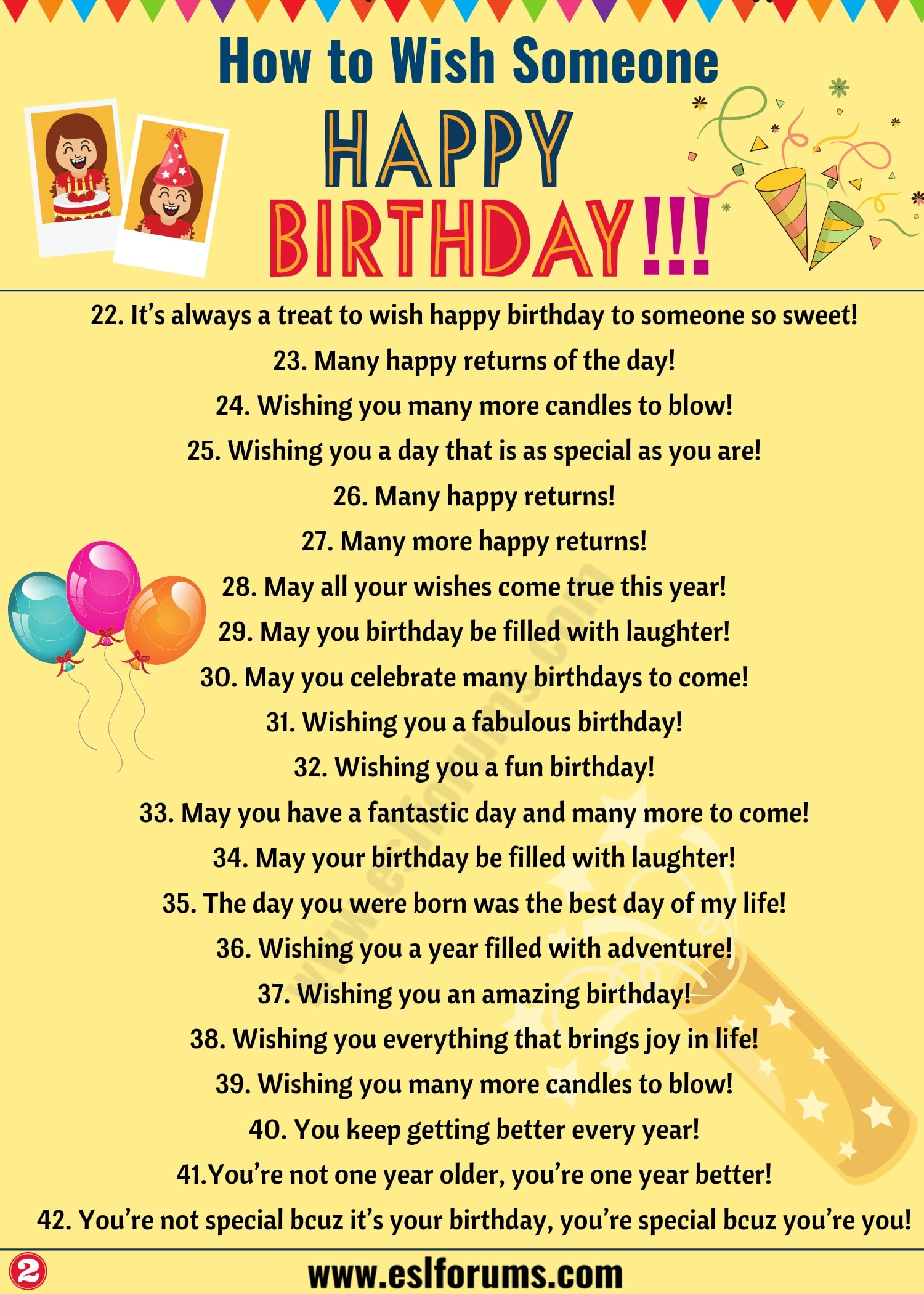 Birthday Wishes: 40+ Best Happy Birthday Wishes to Friends & Others!