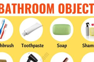 Bathroom Accessories: List of Objects in the Bathroom with ESL Picture 76