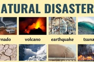 Natural Disasters: Different Types of Natural Disasters with ESL Pictures 3