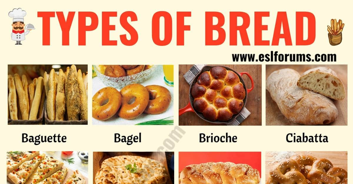 Types of Bread | List of 24 Best Types of Bread from around the World 1