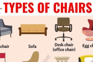 Types of Chairs: 25 Different Chair Styles with ESL Pictures 11