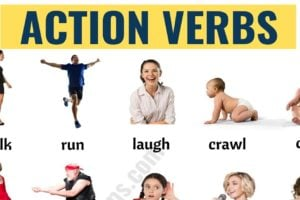 Action Verbs: List of 50+ Useful Action Words with the Pictures! 5