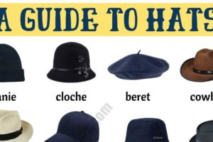 Types of Hats: List of 20 Hat Styles with ESL Picture 2
