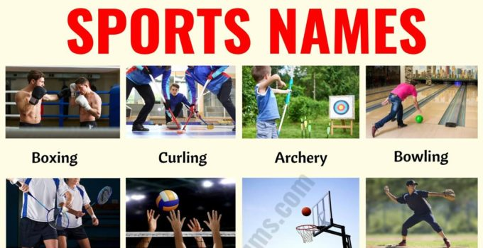 List of Sports: 35+ Useful Names of Sports and Games in English 6