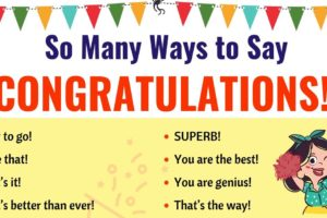Congratulations | List of 40 Interesting Ways to Say Congratulations! 2