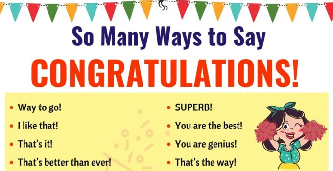 Congratulations | List of 40 Interesting Ways to Say Congratulations! 1