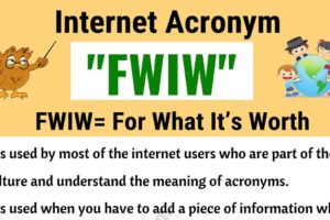 FWIW Meaning | What Does FWIW Stand For? (with Useful Examples) 8
