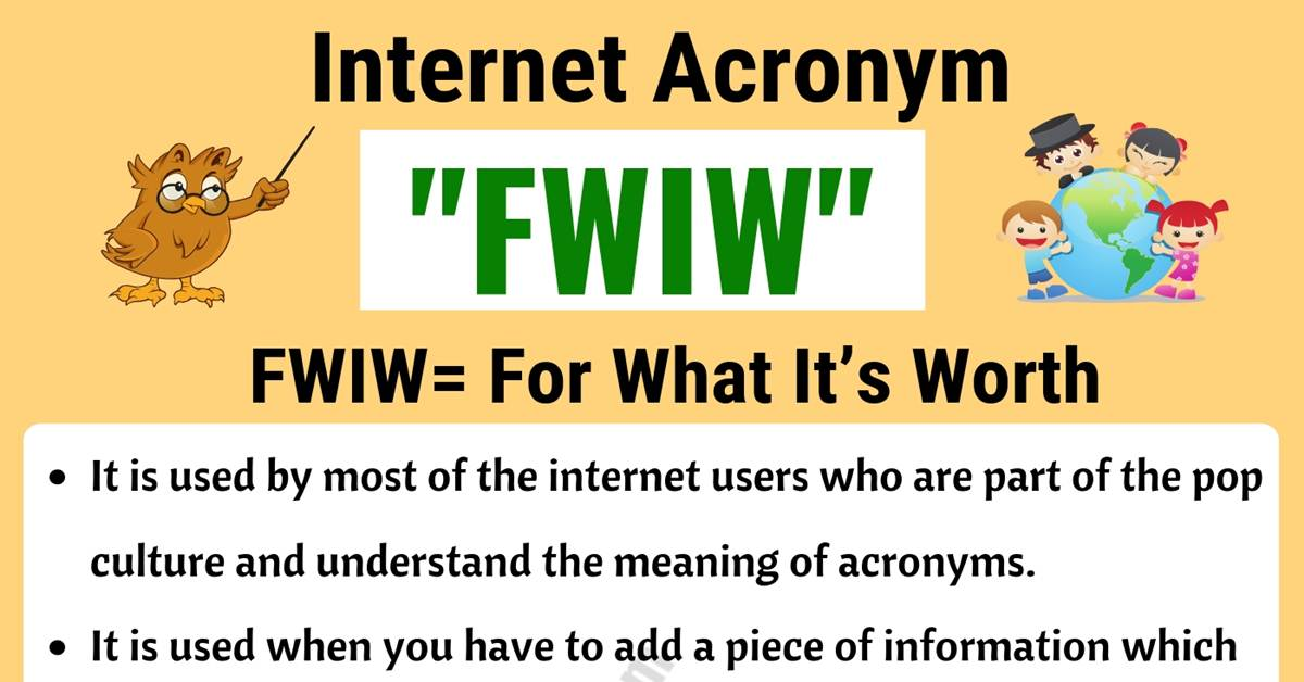 FWIW Meaning | What Does FWIW Stand For? (with Useful Examples) 1
