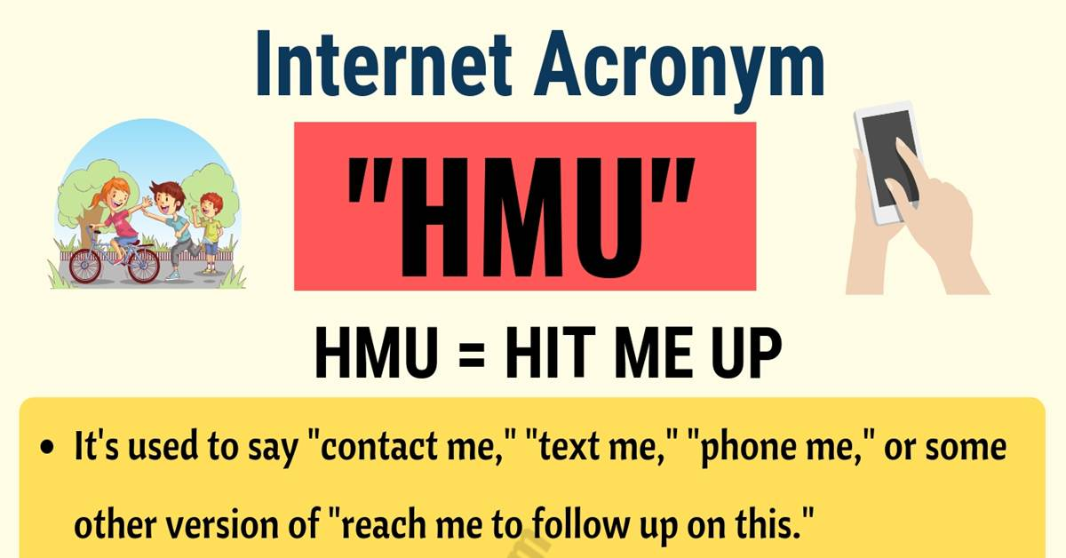 HMU: What Does HMU Stand For? Useful Conversations 1