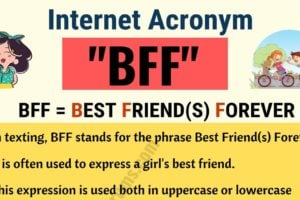 BFF: What Does BFF Stand For in Texting? (with Useful Examples) 6