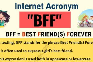 BFF: What Does BFF Stand For in Texting? (with Useful Examples) 12