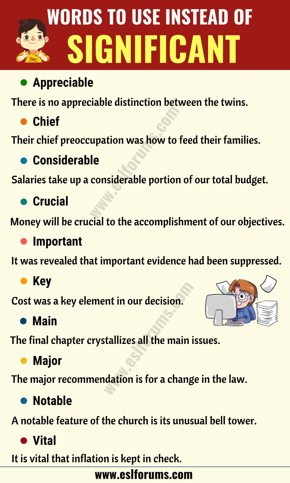 SIGNIFICANT Synonym: List of 27 Synonyms for Significant in English