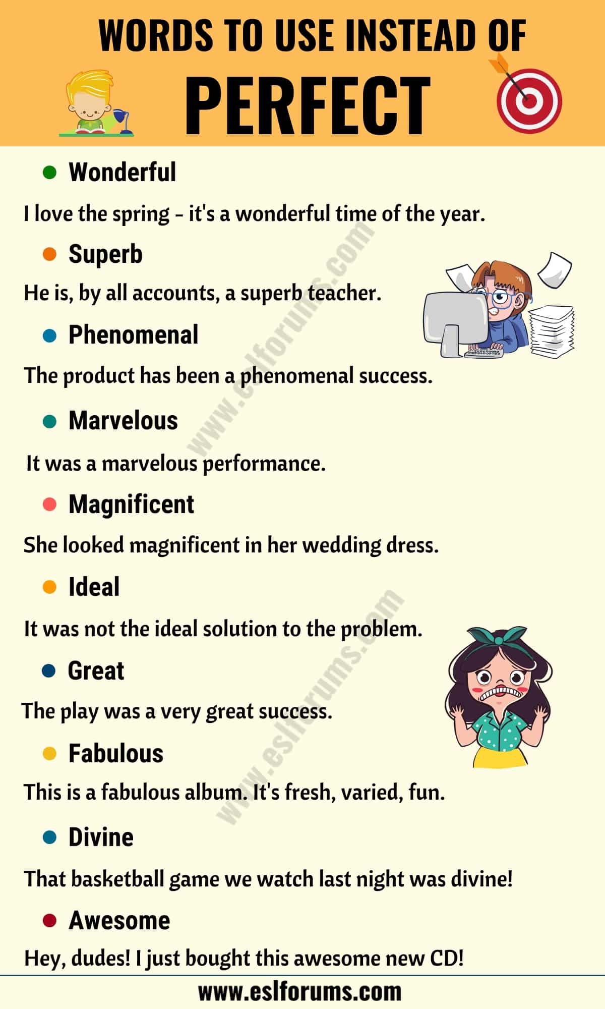 PERFECT Synonym: List of 22 Synonyms for Perfect with Useful Examples