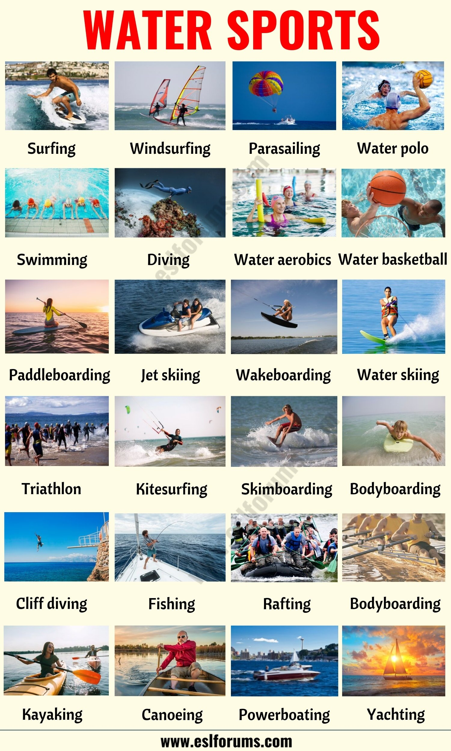 Water Sports | List of 30+ Incredibly Awesome Water Sports You Must Try!