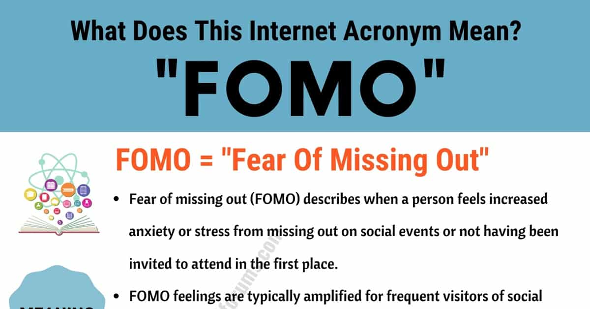 FOMO Meaning: What Does FOMO Mean & How to Use It Correctly? 1