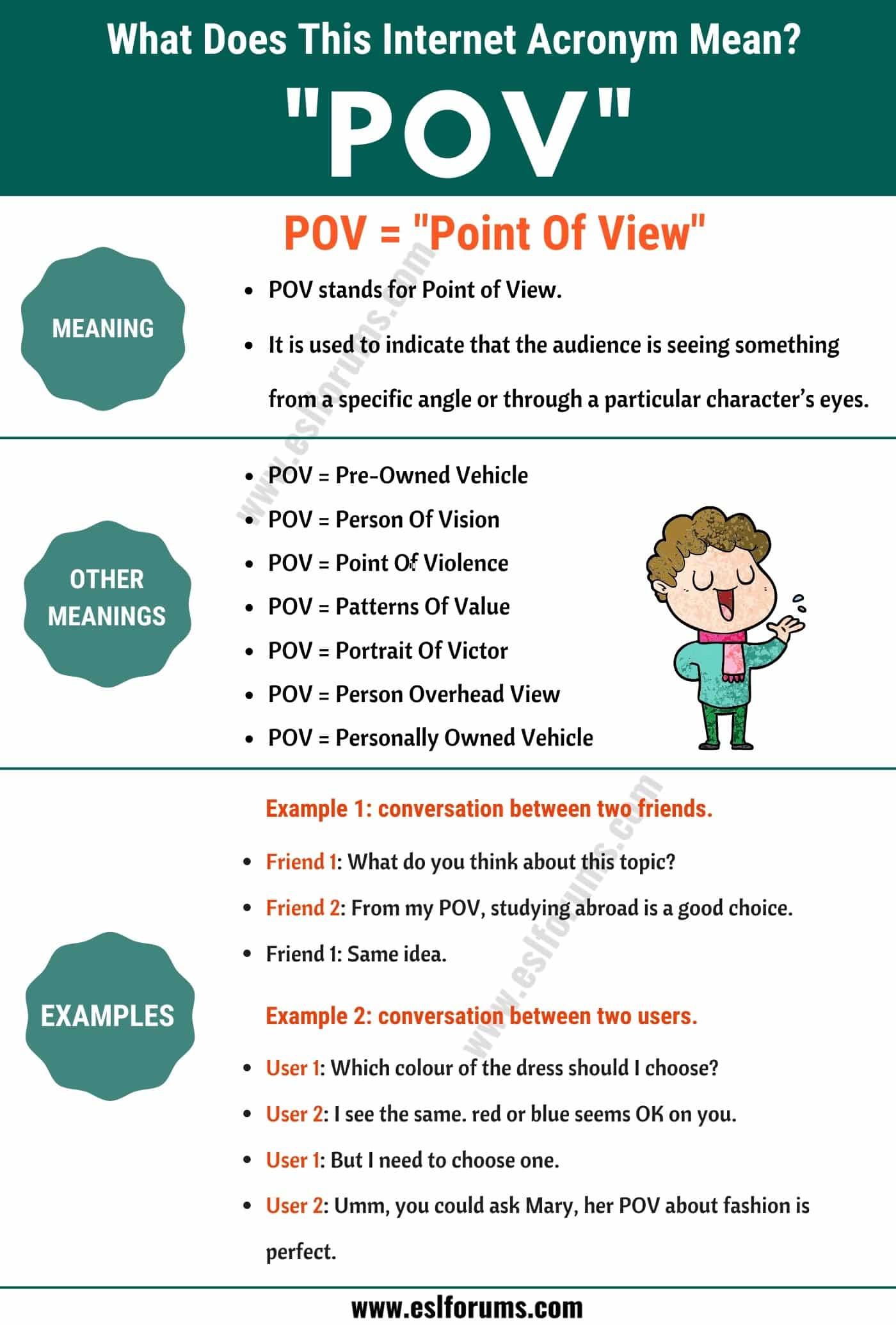 """POV Meaning: The Meaning and Interesting Examples of """"POV"""""""