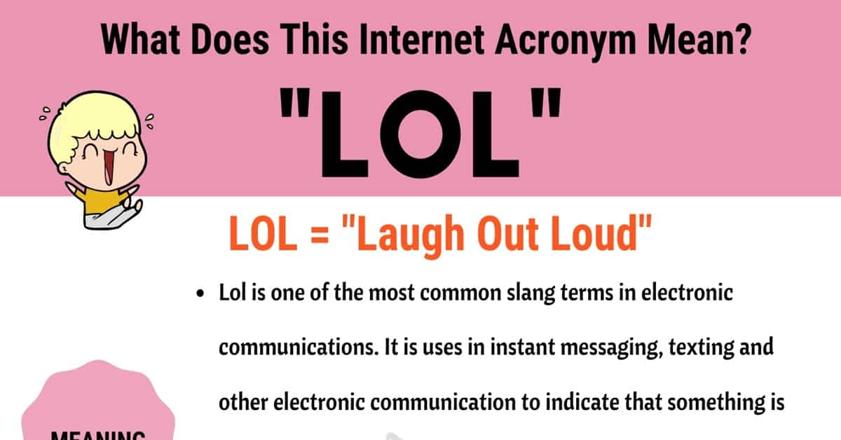 """LOL Meaning: How Do You Define The Popular Acronym """"LOL""""? 6"""