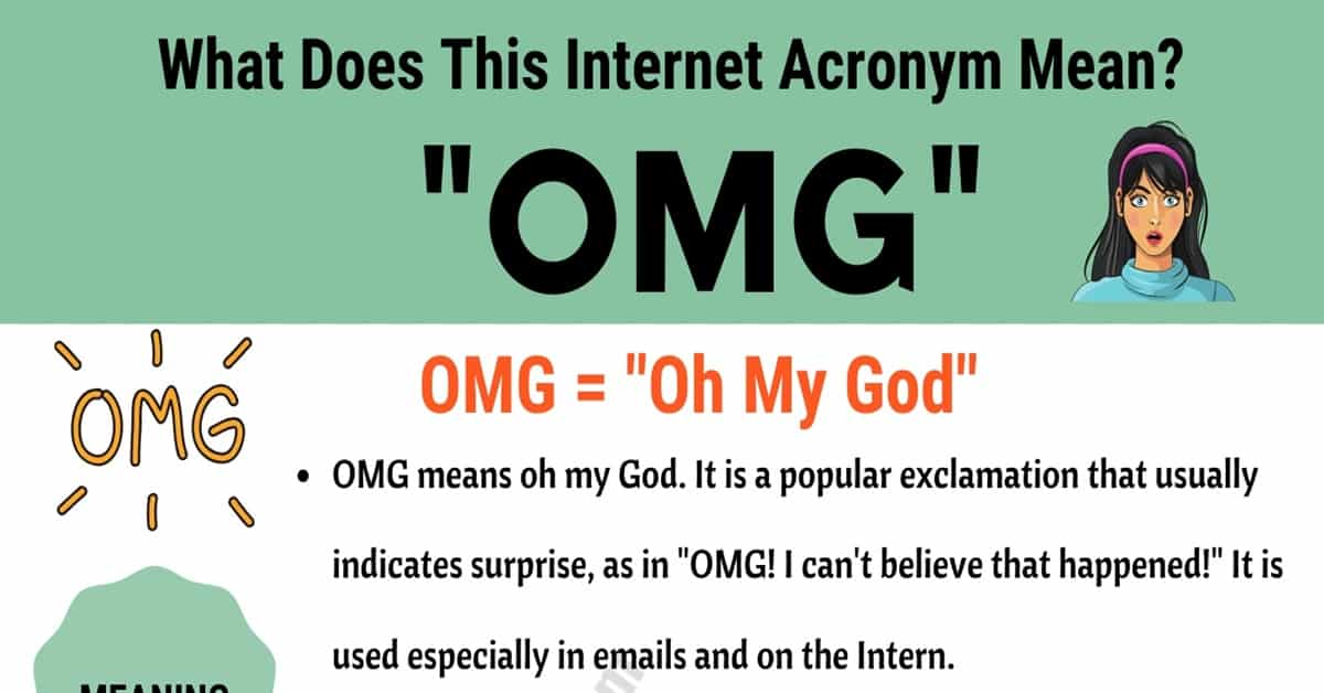 "OMG Meaning: The Meaning and Examples of The Trendy Acronym ""OMG"" 1"